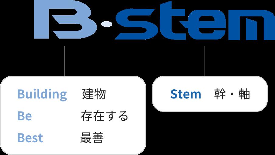 B・stem